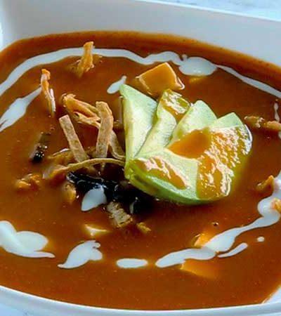 Sopa de Tortilla Fácil