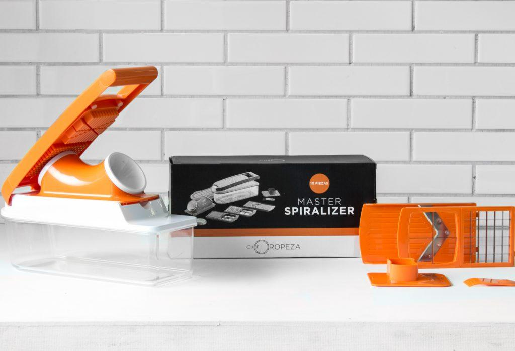 Kitchenmaster con spiralizer, CHEF OROPEZA