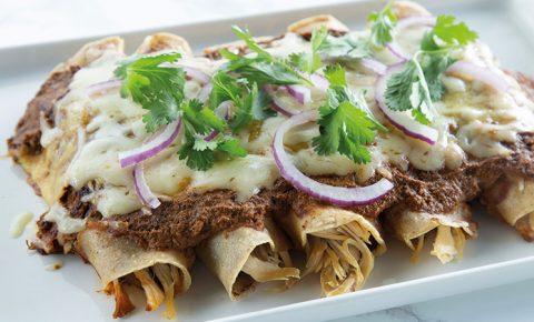 Enchiladas suizas rojas