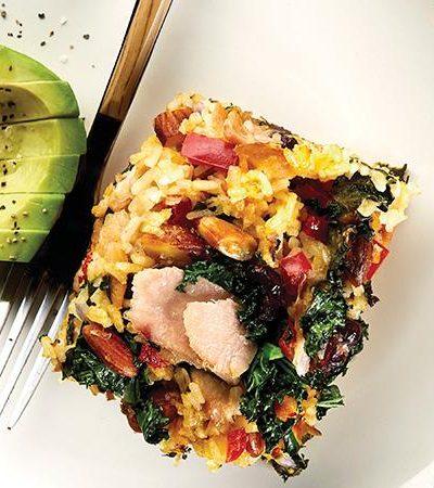 Cacerola de arroz con atún