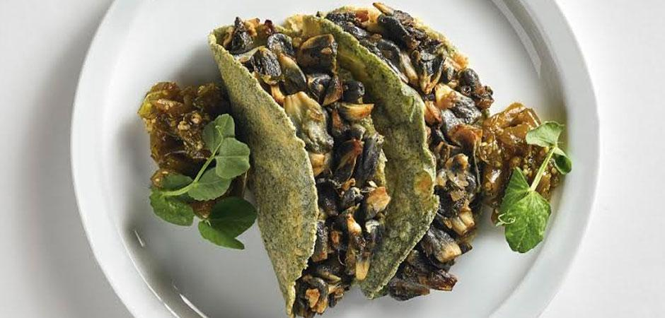 Quesadillas De Huitlacoche Chef Oropeza