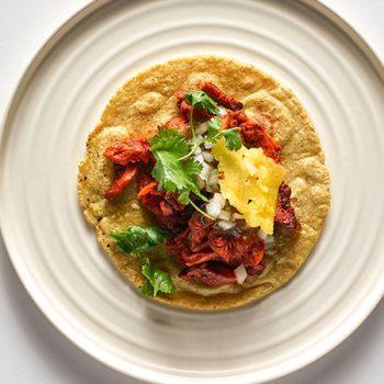 Tacos de Setas al Pastor