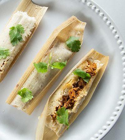 Tamales de cochinta pibil