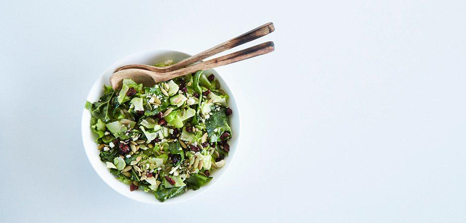 Ensalada de tallos de brócoli