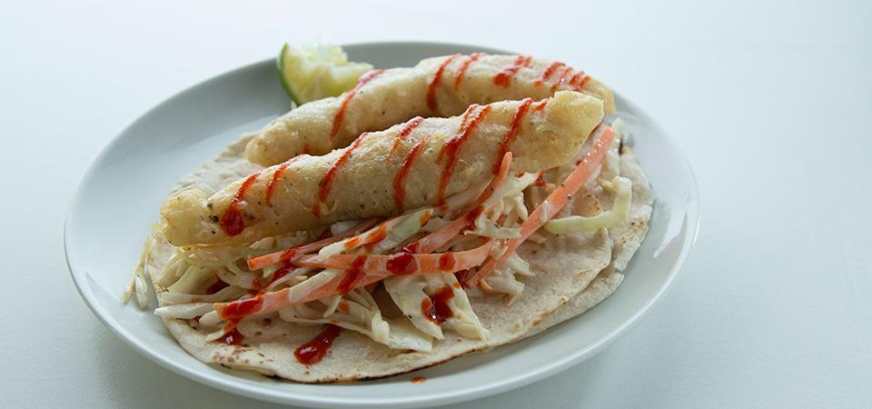 Tacos rebozados