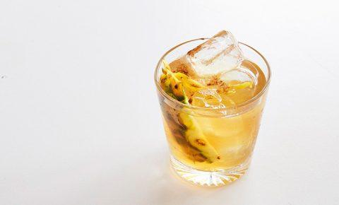 Coctel de tepache con tequila