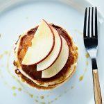 Hotcakes con Manzana