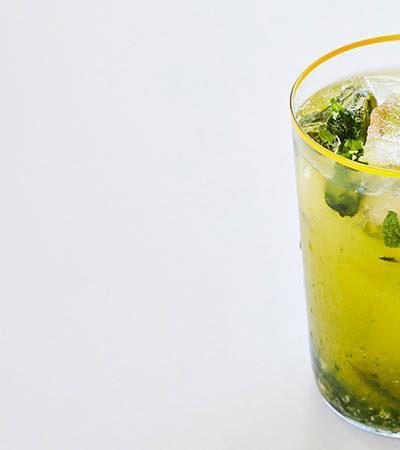 Mojito Sin Alcohol de Naranja con Jengibre