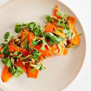 Ensalada de Zanahoria en Salmuera de Cilantro