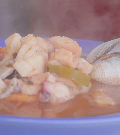 Sopa Frutos del Mar