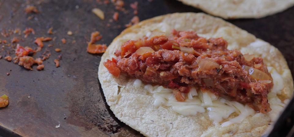 Tacos de Marlín con Queso