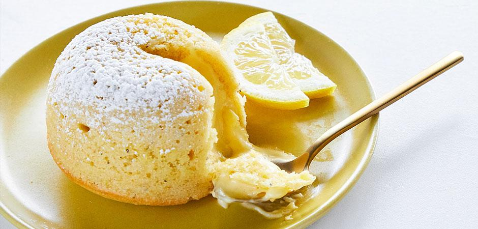 Lava Cake de Limón