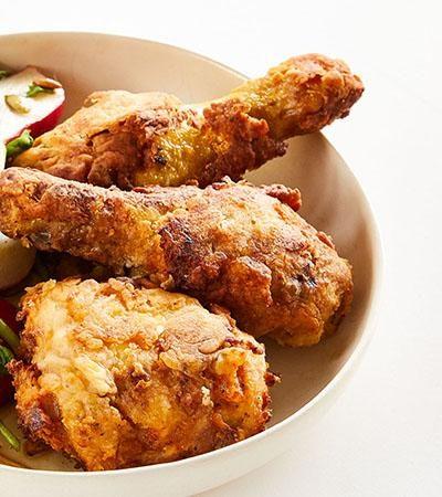 Pollo Frito Sin Gluten