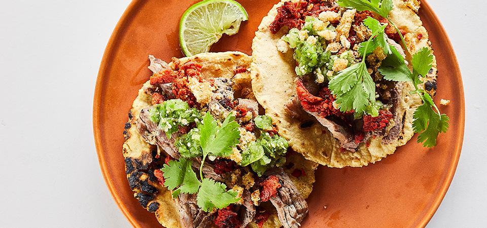 Tacos Campechanos con Chicharrón
