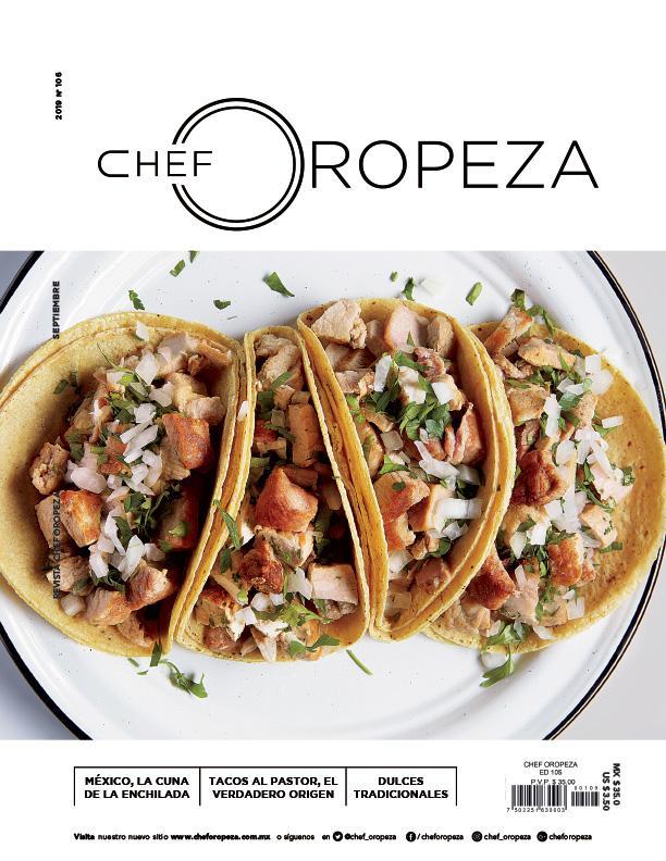 Revista Chef Oropeza Septiembre 2019