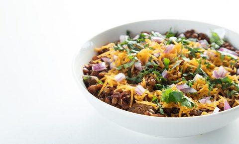 Chilli sin Carne Estilo Texas