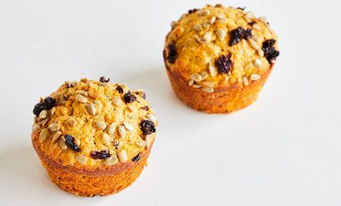 Muffins de Zanahoria y Semillas