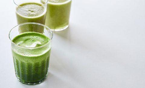 Jugo Verde de Té, Manzana y Pepino