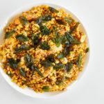 Pilaf de Lentejas con Pollo y Hierbabuena