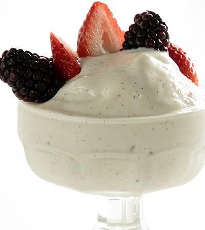 Helado de Yogurt Casero