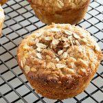 Muffins de Manzana con Chocolate Blanco