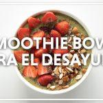 Smoothie Bowl para el Desayuno