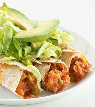 Burritos de Ensalada de Atún