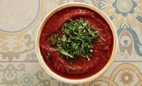 Salsa Roja de Chile De Árbol