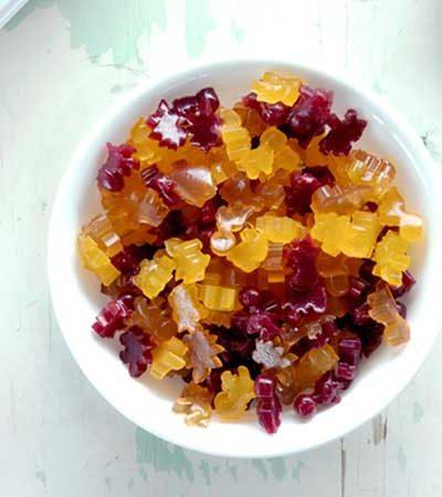 Gomitas Bicolor de Frutas