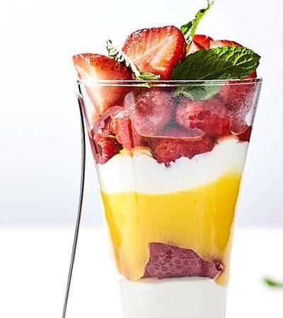 Parfait de Frutas Mixtas